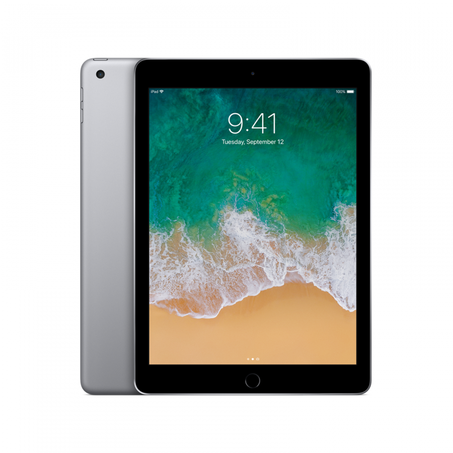 IPAD APPLE 128GB WIFI 9.7Inc Retina Display iOS-11 Space Grey
