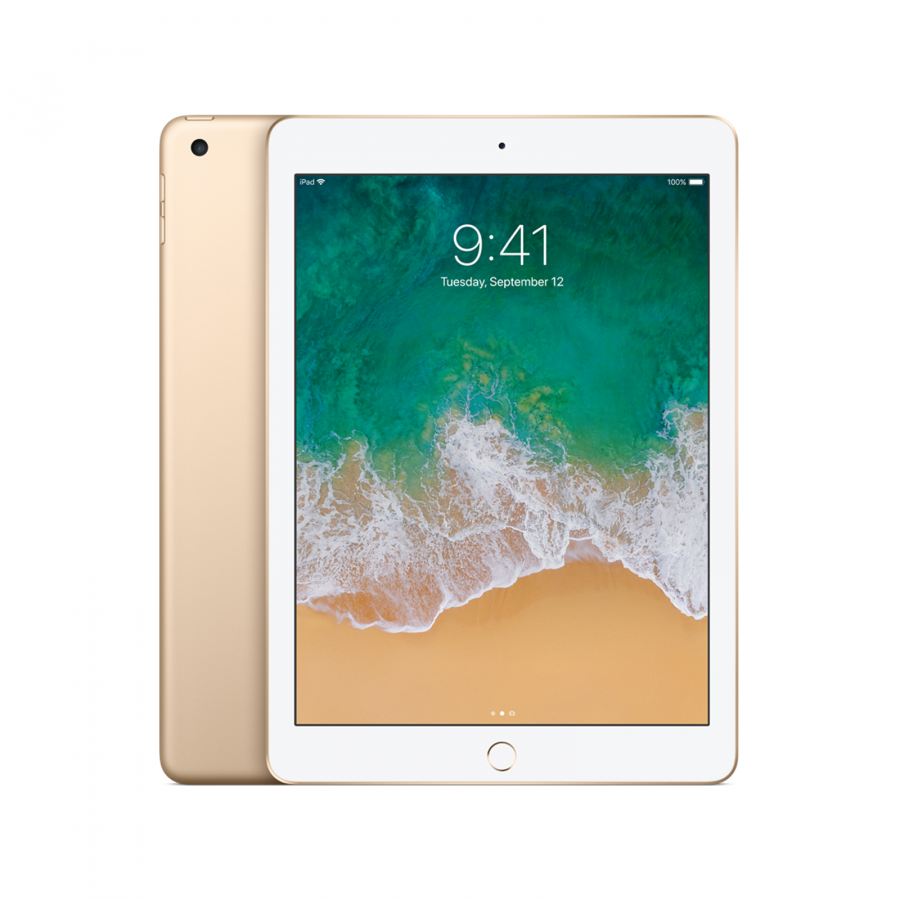 IPAD APPLE 128GB WIFI 9.7Inc Bluetooth Retina Display iOS-11 Gold