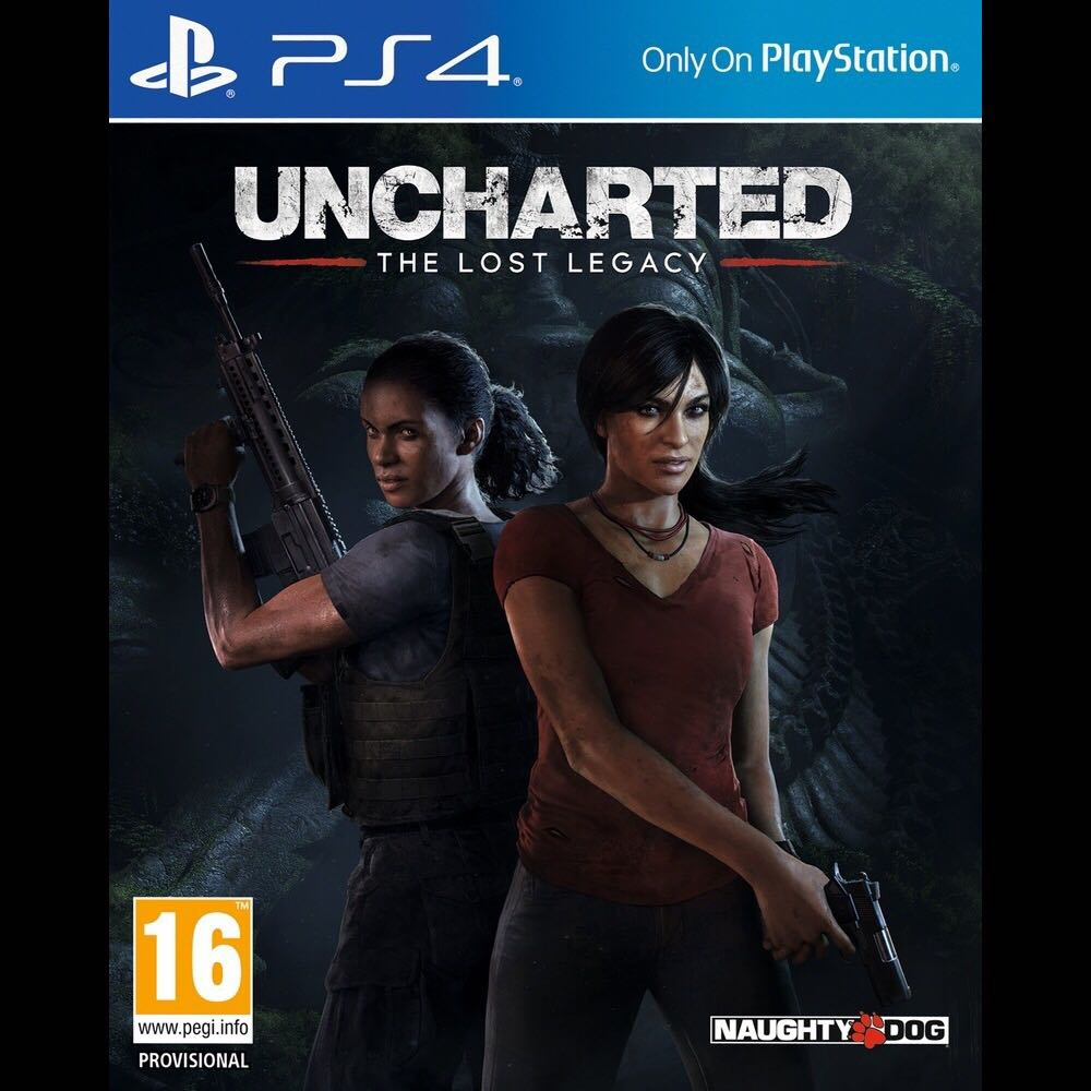 Juego Uncharted 4 lost legacy PS4