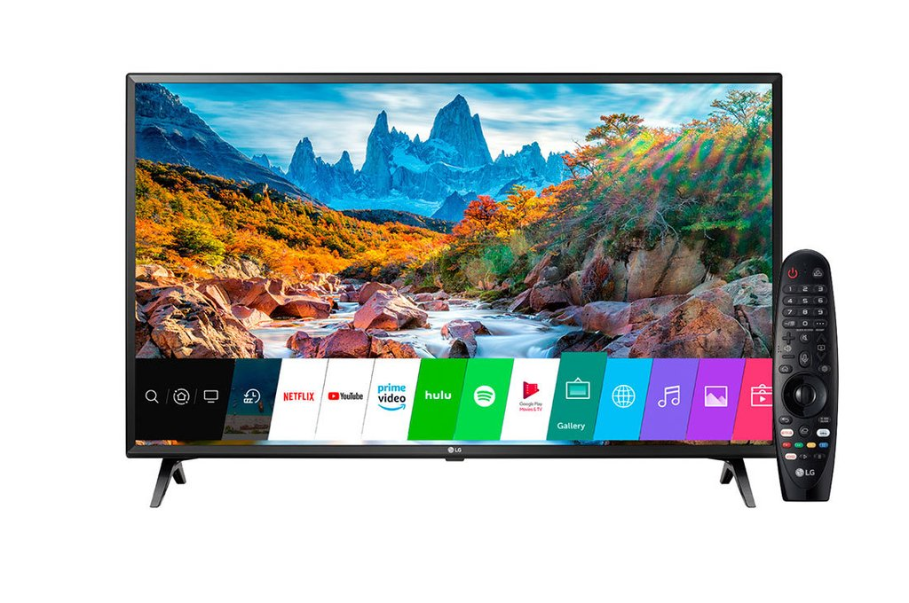 "Smart TV LG 43UM7360 UHD FLAT SMART 43"" 4K"