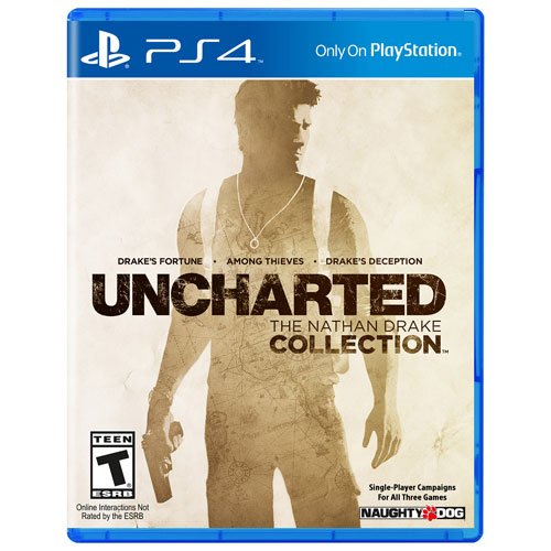 Juego Ps4 Uncharted The Nathan Drake Collection