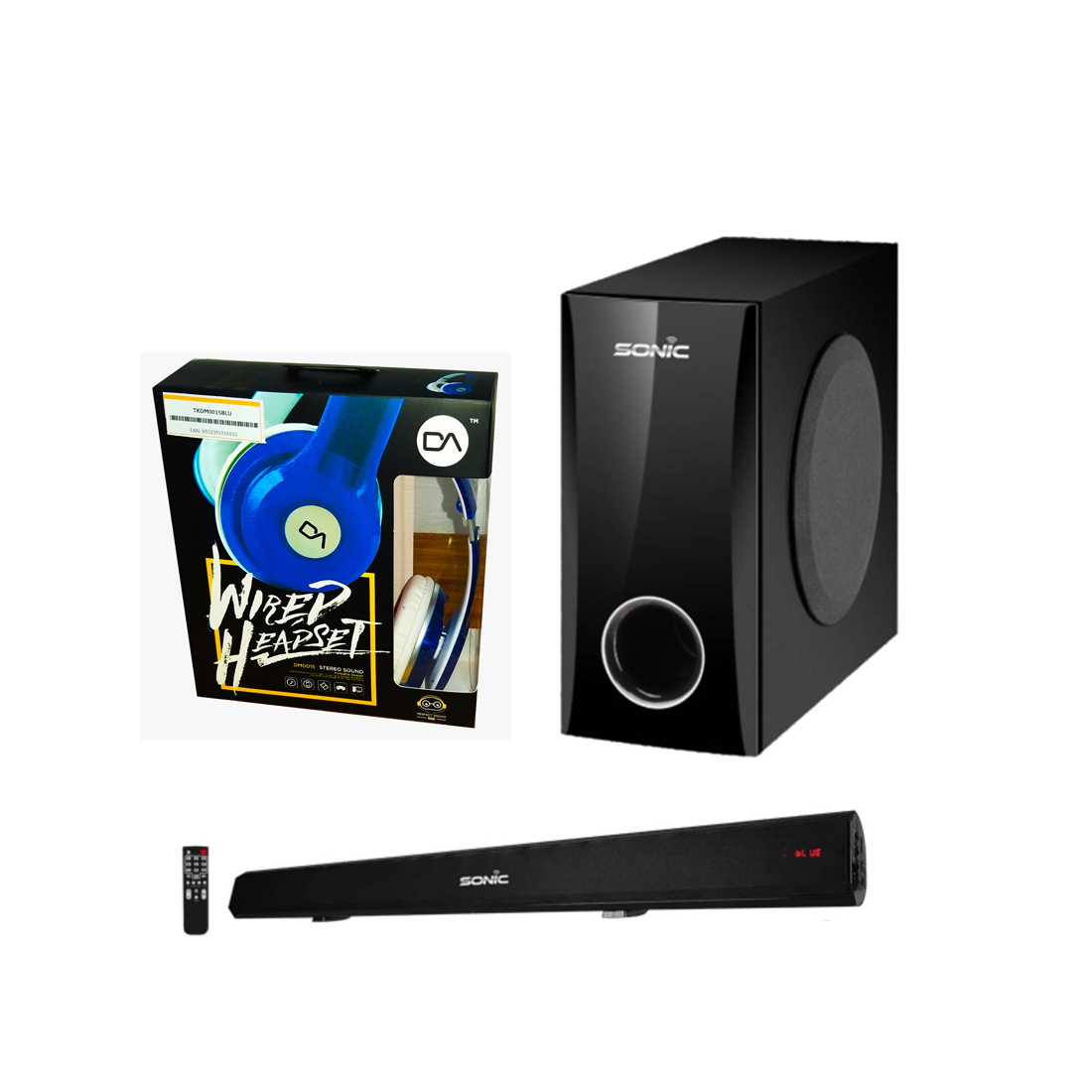 Combo SONIC: Boom Bar HDMI + Subwoofer + REGALO