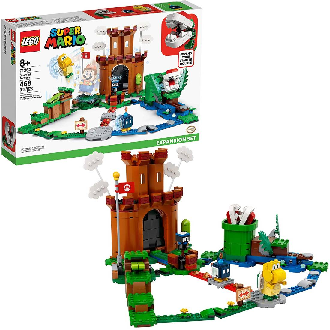LEGO Super Mario Guarded Fortress Expansion Set 468 piezas