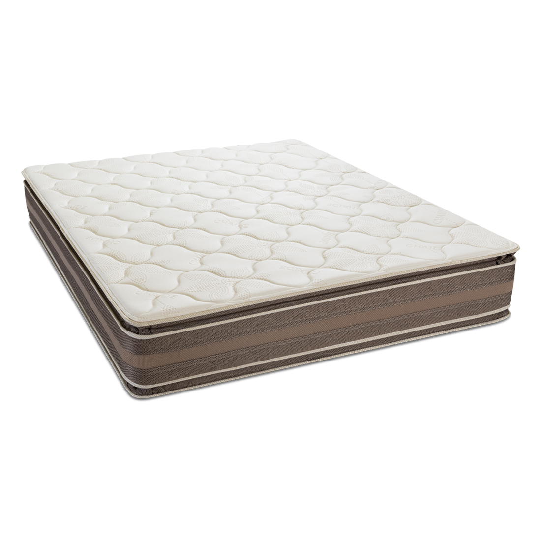 Colchón CHAIDE Continental De Lujo Pillow Top 2 y Media Plazas Beige