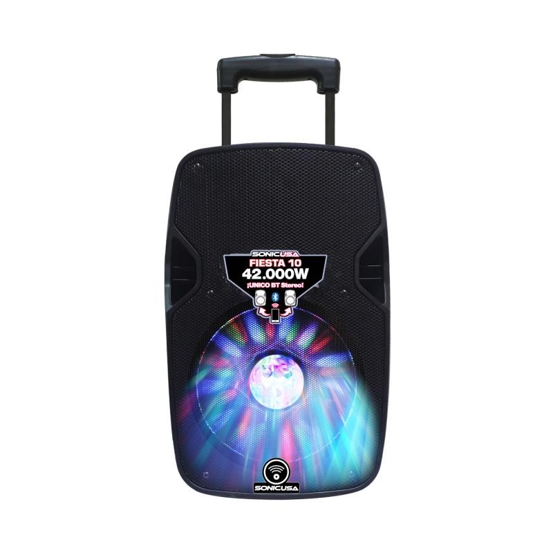 Parlante Fiesta 10 SONIC 42.000 Watts Led Ball disc