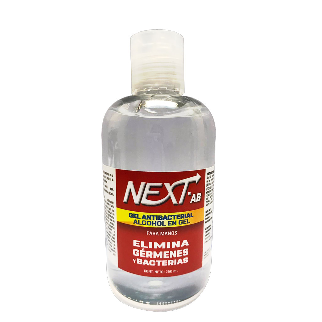 GEL ANTIBACTERIAL NEXT AB 250ML