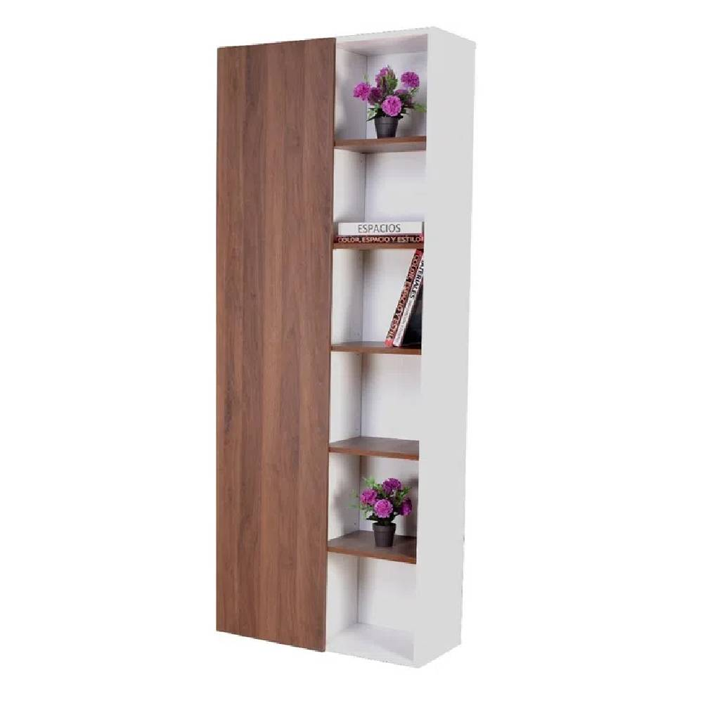 Biblioteca Multiusos FARID Alta Color WALNUT