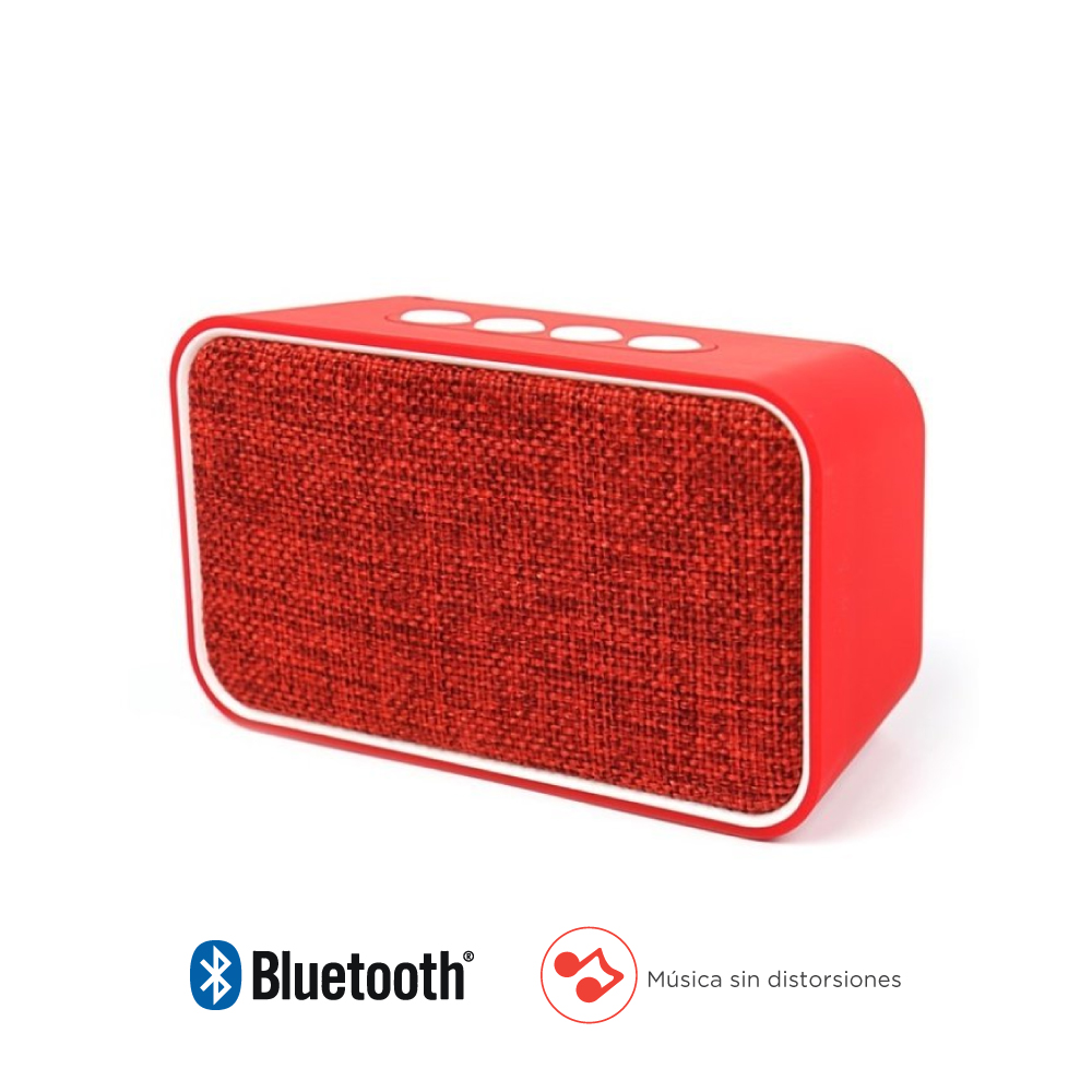 Parlantes Bluetooth Delicate Amazing TKDM0022RD