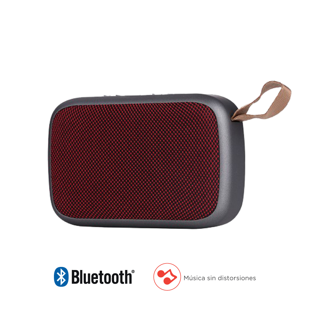 Parlantes Bluetooth Delicate Amazing TKDM0064RD