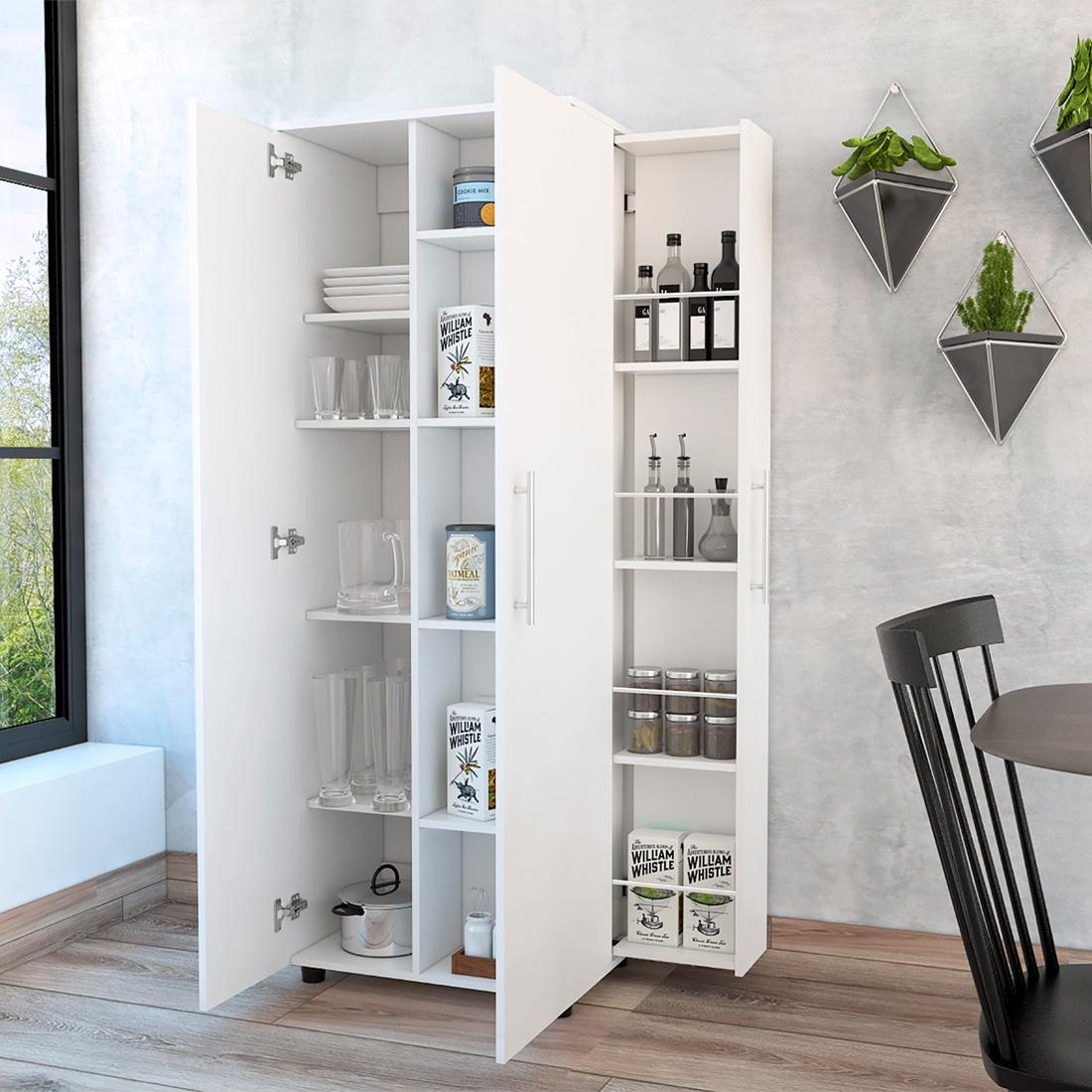 Mueble Auxiliar de Cocina SAN LORENZO Color Blanco
