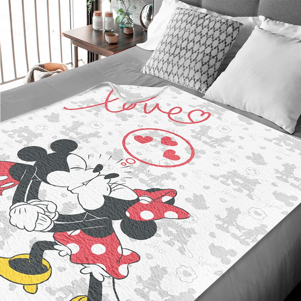 Cobija DISNEY 2 Plazas MICKEY & MINNIE