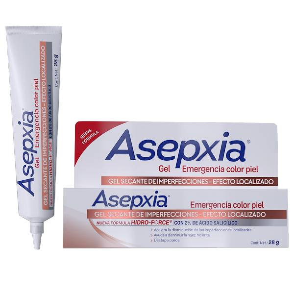 GEL ASEPXIA EMERGENCIA COLOR PIEL 28GR
