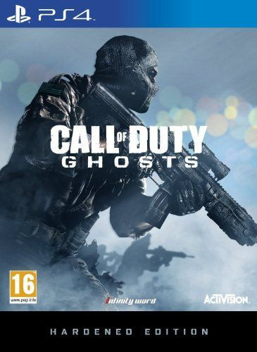 Juego Ps4 Call Of Duty Ghosts Hardened Edition