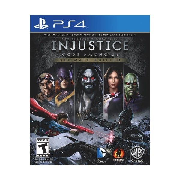 Juego Ps4 Injustice Gods Among Us