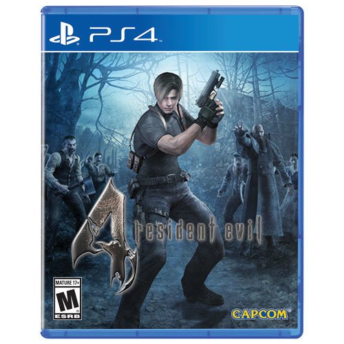 Juego Ps4 Resident Evil 4