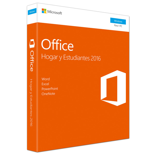 Licencia Microsoft Office Home and Student 2016 – Descarga - Windows