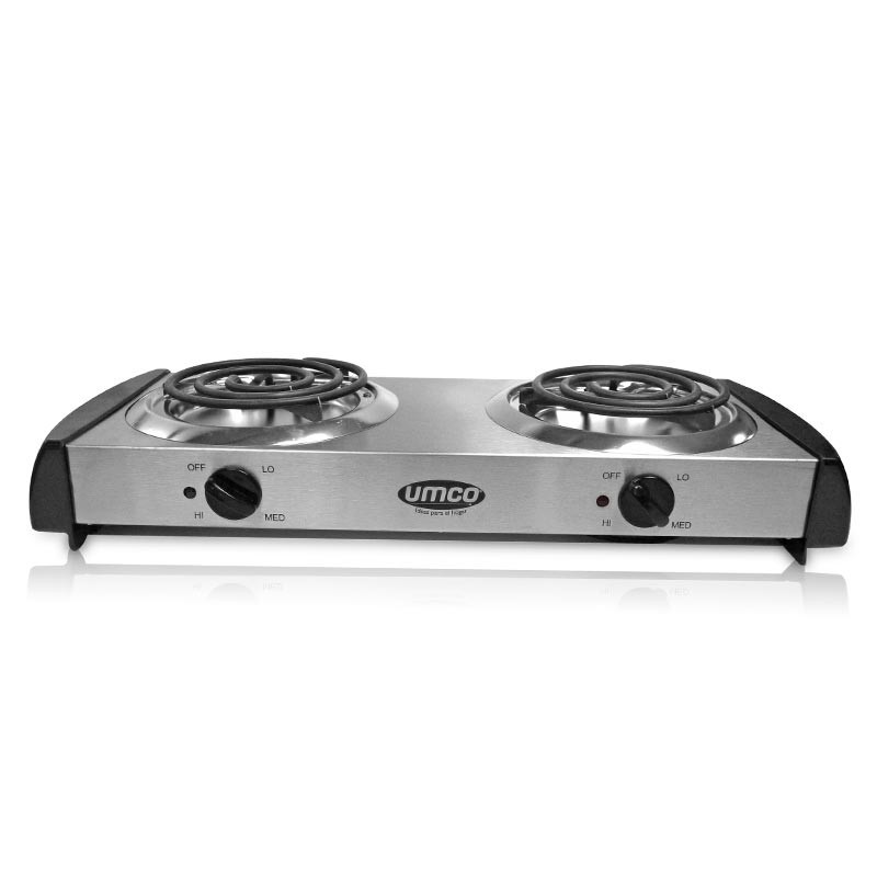 Hornilla Electrica Umco 2h Inox 1500w