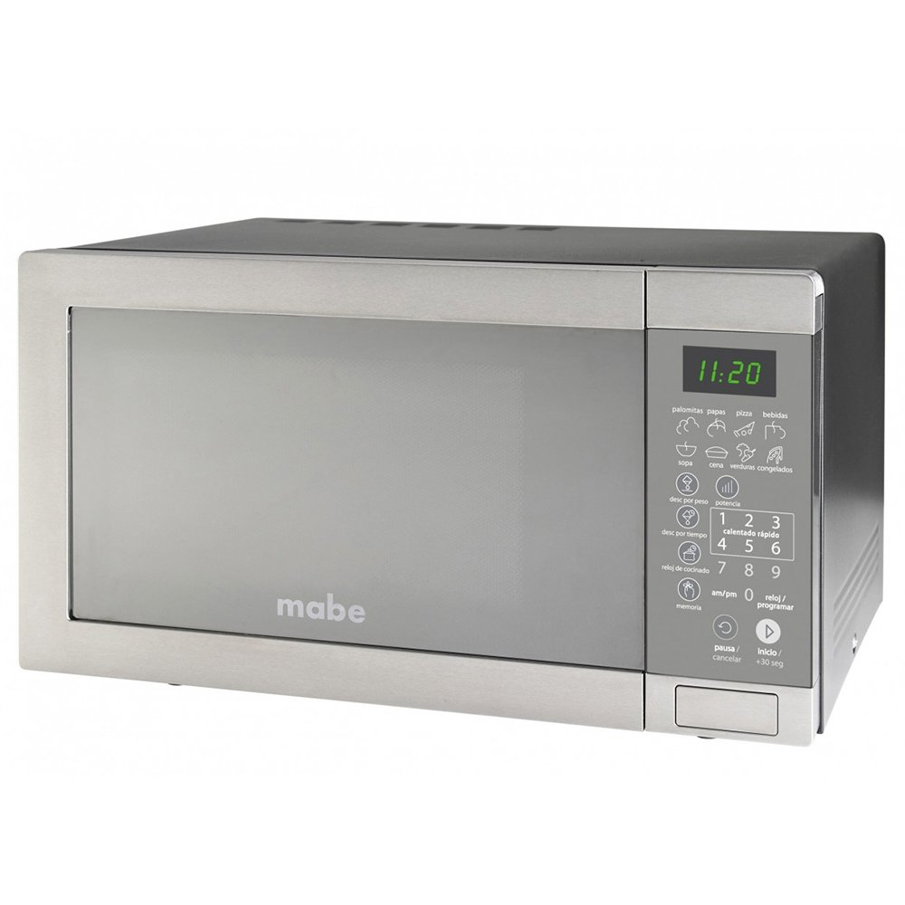 MICROONDAS MABE XO1120MD1 1.1 PIES CUBICOS INOXIDABLE